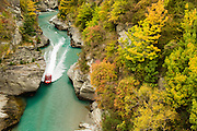Jetboat along the Shotover River, Queenstown, New Zealand
