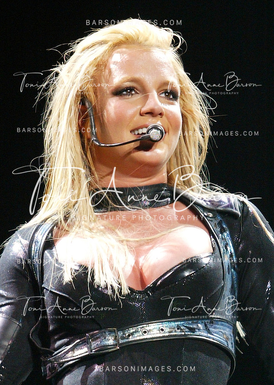 "Britney Spears.Britney Spears ""Onyx Hotel"" Tour in Paris - May 30, 2004.Bercy.Paris,  France.May 30, 2004.Photo by Tony Barson/WireImage.com..To license this image (2831808), contact WireImage:.+1 212-686-8900 (tel).+1 212-686-8901 (fax).info@wireimage.com (e-mail).www.wireimage.com (web site)"