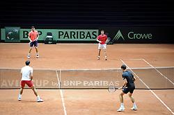 November 21, 2018 - France - Finale Coupe Davis 2018 - Equipe croatie entrainement (Credit Image: © Panoramic via ZUMA Press)