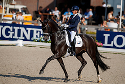 Scholtens Emmelie, NED, Indian Rock<br /> World ChampionshipsYoung Dressage Horses<br /> Ermelo 2018<br /> © Hippo Foto - Dirk Caremans<br /> 02/08/2018