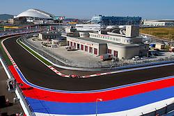 10.10.2014, Sochi Autodrom, Sotschi, RUS, FIA, Formel 1, Grosser Preis von Russland, Training, im Bild Kimi Raikkonen (FIN) Ferrari F14 T. // during the Practice of the FIA Formula 1 Russia Grand Prix at the Sochi Autodrom in Sotschi, Russia on 2014/10/10. EXPA Pictures © 2014, PhotoCredit: EXPA/ Sutton Images/ Martini<br /> <br /> *****ATTENTION - for AUT, SLO, CRO, SRB, BIH, MAZ only*****