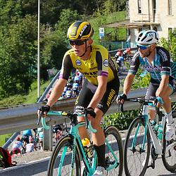 12-10-2019: Cycling: Il Lombardia: Como <br />Koen Bouwman working