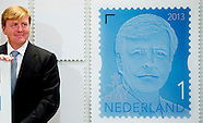 KING WILLEM ALEXANDER GETS NEW KING STAMPS