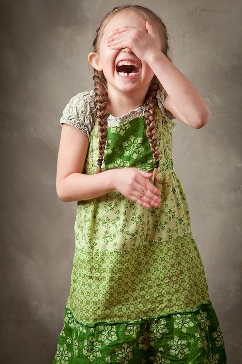 Five year old, Elliana Rammell.