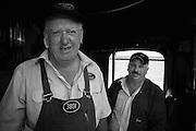 Engine men, 3801 Locomotive
