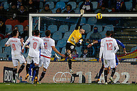 19.01.2013 SPAIN -  La Liga 12/13 Matchday 20th  match played between Getafe C.F. vs Sevilla Futbol Club (1-1) at Alfonso Perez stadium. The picture show Andres Palop Cervera (Spanish Goalkeeper of Sevilla F.C.)