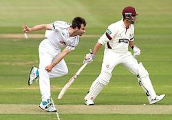 Hampshire's James Tomlinson - Photo mandatory by-line: Robbie Stephenson/JMP - Mobile: 07966 386802 - 21/06/2015 - SPORT - Cricket - Southampton - The Ageas Bowl - Hampshire v Somerset - County Championship Division One