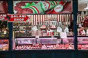 Salami Shop, Budapes, Hungary
