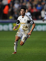 Swansea City's Alejandro Pozuelo - Photo mandatory by-line: Joe Meredith/JMP - Tel: Mobile: 07966 386802 19/01/2014 - SPORT - FOOTBALL - Liberty Stadium - Swansea - Swansea City v Tottenham Hotspur - Barclays Premier League