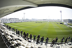 February 19, 2019 - Turin, Piedmont, Italy - A general views of Juventus Training Center during the training of Juventus FC on the eve of the first leg of eighth of final of UEFA Champions League match between Atletico Madrid and Juventus FC on February 19, 2019 in Turin, Italy. (Credit Image: © Massimiliano Ferraro/NurPhoto via ZUMA Press)