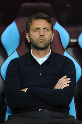 Aston Villa Manager Tim Sherwood - Mandatory byline: Dougie Allward/JMP - 07966386802 - 14/08/2015 - FOOTBALL - Villa Park -Birmingham,England - Aston Villa v Manchester United - Barclays Premier League