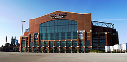 13 May 2013:  Lucas Oil Stadium, Indianapolis Indiana..This image was produced in part utilizing High Dynamic Range (HDR) processes and by Panoramic Imaging Stiching.  It should not be used editorially without being listed as an illustration or with a disclaimer.  It may or may not be an accurate representation of the scene as originally photographed and the finished image is the creation of the photographer.