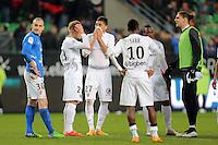 DECEPTION METZ   - 07.03.2015 -  Rennes / Metz -  28eme journee de Ligue 1 <br />Photo : Vincent Michel / Icon Sport<br /><br />  *** Local Caption ***