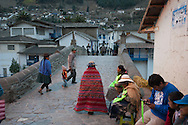 """Feast of """"Mamacha del Carmen"""" of Paucartambo. On any day in the streets of the village"""