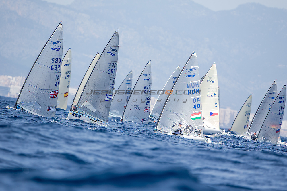 47 Trofeo Princesa Sofia IBEROSTAR, bay of Palma, Mallorca, Spain, takes<br /> place from 25th March to 2nd April 2016. Qualifier event for the Rio 2016<br /> Olympic Games. Almost 800 boats and over 1.000 sailors from to 65 nations<br /> &copy;Jesus Renedo/Sofia