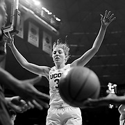 STORRS, CONNECTICUT- NOVEMBER 17: Katie Lou Samuelson #33 of the UConn Huskies in action during the UConn Huskies Vs Baylor Bears NCAA Women's Basketball game at Gampel Pavilion, on November 17th, 2016 in Storrs, Connecticut. (Photo by Tim Clayton/Corbis via Getty Images)