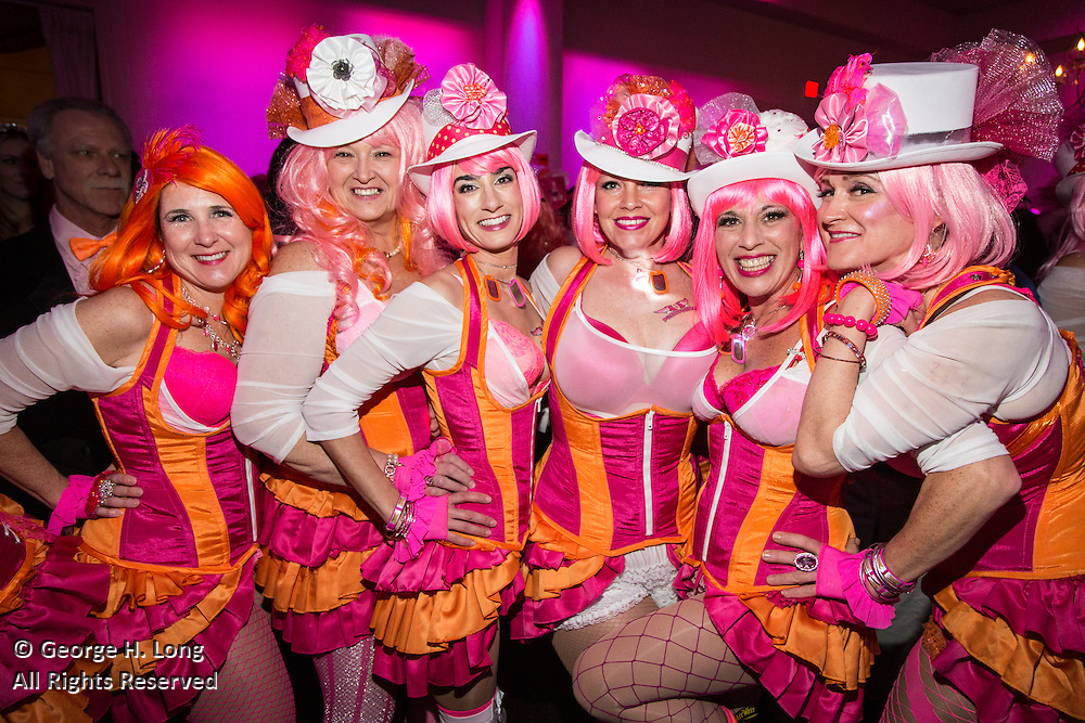 Pussyfooters Blush Ball 2014 at The Cannery