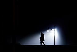 A supporter arrives at The John Smith's Stadium for Huddersfield Town v Fulham in the Premier League - Mandatory by-line: Robbie Stephenson/JMP - 05/11/2018 - FOOTBALL - John Smith's Stadium - Huddersfield, England - Huddersfield Town v Fulham - Premier League