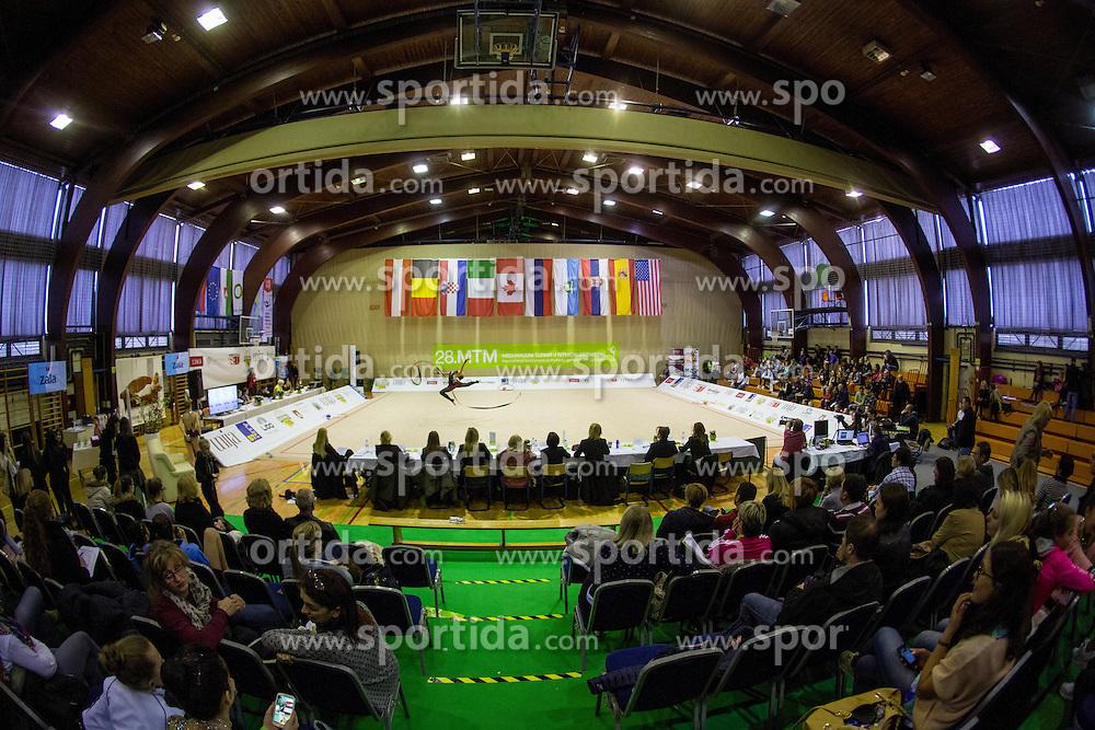 Sofija Vukicevic of Serbia competes during 28th MTM - International tournament in rhythmic gymnastics Ljubljana, on April 4, 2015 in Arena Krim, Ljubljana, Slovenia. Photo by Matic Klansek Velej / Sportida