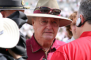"Simply put, FSU Head Coach Bobby Bowden after the game ""They whupped us.""  USF defeated No. 18 FSU 17-7, Saturday, 26 Sep 09, at Doak Campbell Stadium in front of 12,000 fans. First meeting between the schools and was viewed by FSU's biggest home crowd in four years."