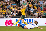2018 Womens Soccer - Australia v Chile
