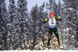 March 8, 2019 - –Stersund, Sweden - 190308 Denise Herrmann of Germany competes in the Women's 7.5 KM sprint during the IBU World Championships Biathlon on March 8, 2019 in Östersund..Photo: Petter Arvidson / BILDBYRÃ…N / kod PA / 92247 (Credit Image: © Petter Arvidson/Bildbyran via ZUMA Press)