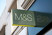 Marks and Spencer. High street shops and shopping,  January 2009, Lowestoft, Suffolk, England