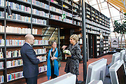 04.OCTOBER.2012. SPIJKENISSE<br /> <br /> PRINCESS LAURENTIEN OF THE NETHERLANDS OPENS THE BOEKENBERG LIBRARY IN SPIJKENISSE<br /> <br /> BYLINE: EDBIMAGEARCHIVE.CO.UK<br /> <br /> *THIS IMAGE IS STRICTLY FOR UK NEWSPAPERS AND MAGAZINES ONLY*<br /> *FOR WORLD WIDE SALES AND WEB USE PLEASE CONTACT EDBIMAGEARCHIVE - 0208 954 5968*