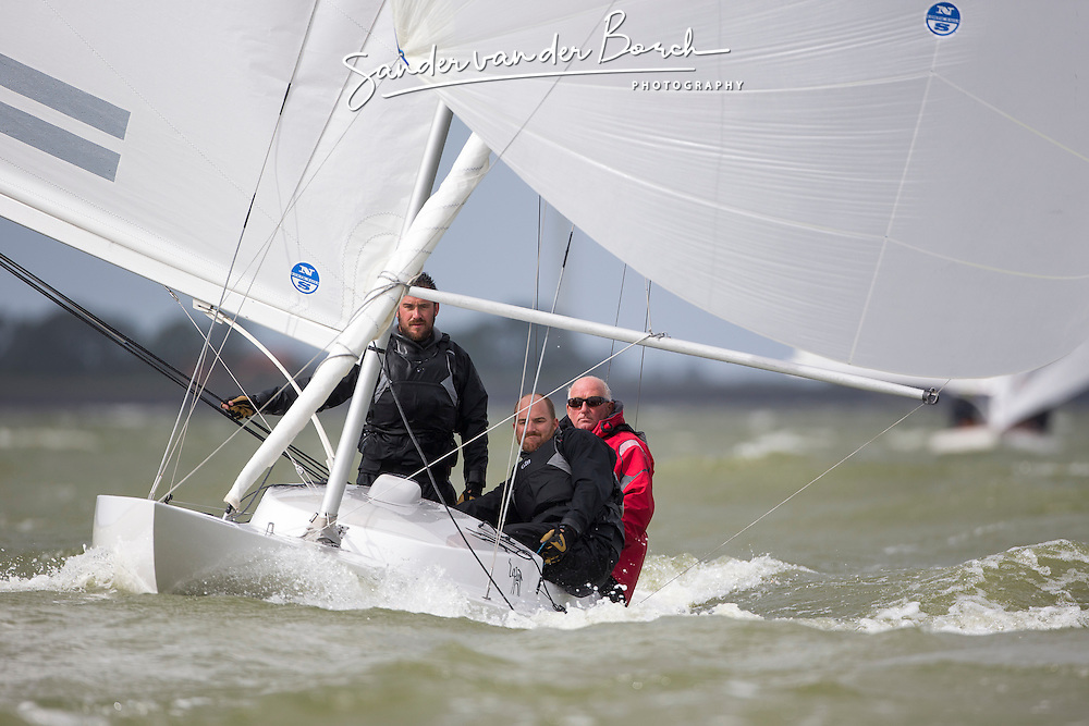 Dragon tune up NK. 5th of September, 2015, Medemblik, Nederland