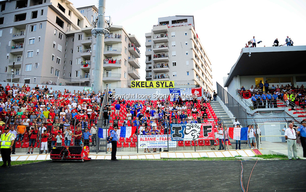 Supporters France - 13.06.2015 - Albanie / France - Match Amical - Tirana<br />