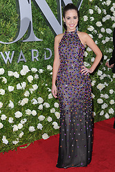 June 11, 2017 - New York, NY, USA - June 11, 2017  New York City..Cristina Ottaviano attending the 71st Annual Tony Awards arrivals on June 11, 2017 in New York City. (Credit Image: © Kristin Callahan/Ace Pictures via ZUMA Press)