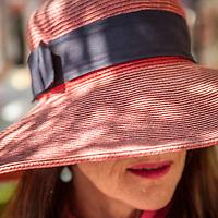 Ingrid Lekven at the Saturday Market in Calistoga