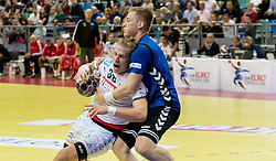02.11.2016, Arena Nova, Wiener Neustadt, AUT, EHF, Handball EM Qualifikation, Österreich vs Finnland, Gruppe 3, im Bild Wilhelm Jelinek (AUT)// during the EHF Handball European Championship 2018, Group 3, Qualifier Match between Austria and Finland at the Arena Nova, Wiener Neustadt, Austria on 2016/11/02. EXPA Pictures © 2016, PhotoCredit: EXPA/ Sebastian Pucher