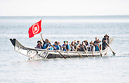 Kate Middleton & William Paddle Canoe - Haida Gwaii