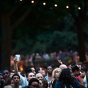 June 4, 2014 - New York, NY : <br /> Concertgoers wait for Janelle Monáe to take the stage and kick off the 2014 Celebrate Brooklyn! concert series in Prospect Park on Wednesday night.<br /> CREDIT: Karsten Moran for The New York Times