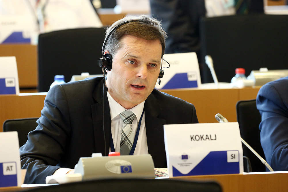 12 May 2017, 123rd Plenary Session of the European Committee of the Regions <br /> Belgium - Brussels - May 2017 <br /> <br /> Mr KOKALJ Anton, Member of the Municipal Council of the Municipality of Vodice, 	Slovenia<br /> <br /> &copy; European Union / Patrick Mascart