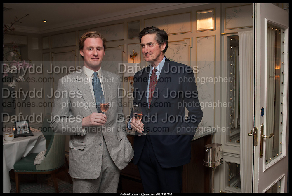 TOM NAYLOR-LEYLAND; SIR PHILIP NAYLOR-LEYLAND, Alice in her Palace party, Alice Naylor-Leyland launch of her  blog, Alice in her Palace, Drawing Room at Fortnum & Mason. 27 March 2014