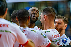 18-05-2019 GER: CEV CL Super Finals Zenit Kazan - Cucine Lube Civitanova, Berlin<br /> Civitanova win the Champions League by beating Zenit in four sets / Alexey Samoylenko #13 of Zenit Kazan
