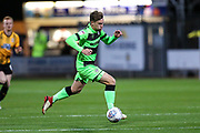 Forest Green Rovers Dayle Grubb(8) breaks forward during the EFL Sky Bet League 2 match between Cambridge United and Forest Green Rovers at the Cambs Glass Stadium, Cambridge, England on 2 October 2018.