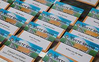 AMERSFOORT - Nationaal Golf Congres & Beurs (Het Juiste Spoor) van de NVG.      kaartjes deelnemers . © Koen Suyk.