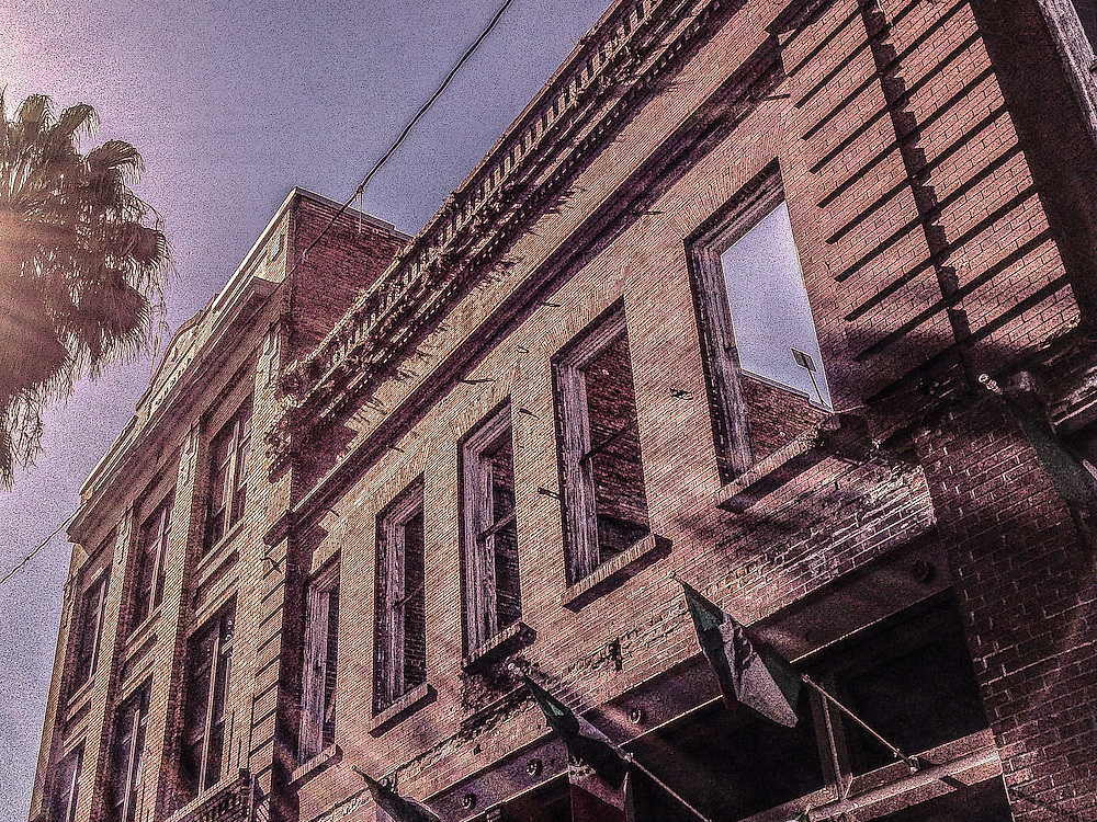 Ybor City facade. Photo by Richard M. Porter