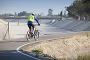 Coyote Creek Bike Trail in Cerritos