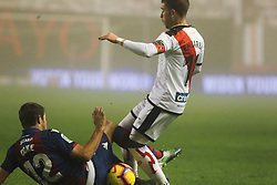 December 23, 2018 - Madrid, Madrid, SPAIN - Embarba of Rayo Vallecano in action during La Liga Spanish championship, , football match between Rayo Vallecano and Levante, December 23, in Vallecas Stadium, Madrid, Spain. (Credit Image: © AFP7 via ZUMA Wire)