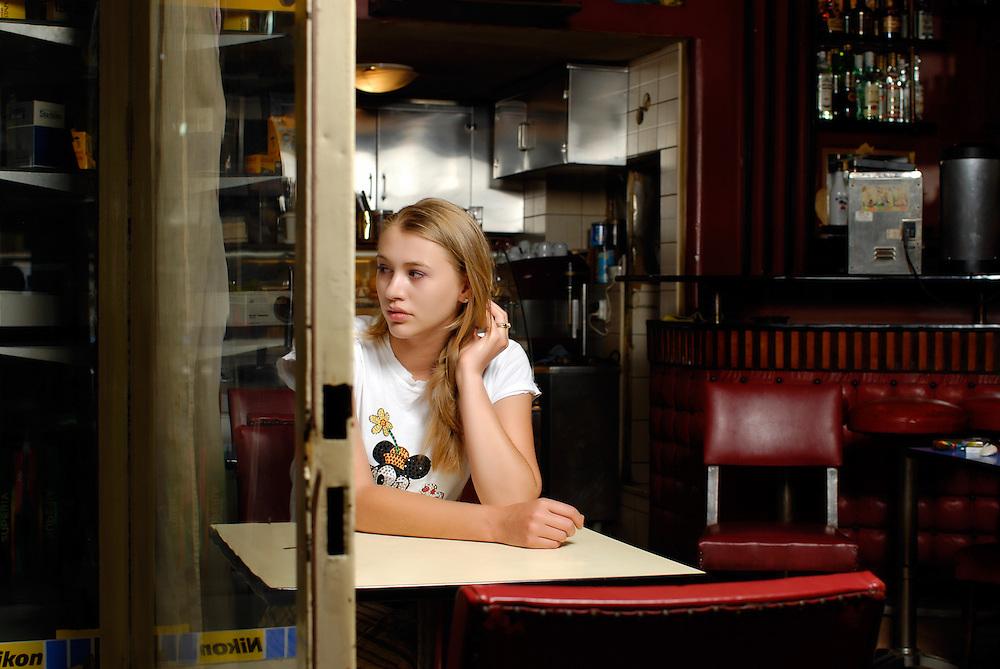 Belarusian actress Zenia Kaplan, for Epiloges Magazine - Greece