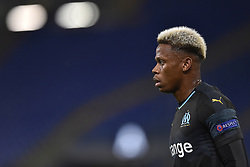 November 8, 2018 - Rome, Rome, Italy - Clinton N'Jie of Olimpique de Marseille during the UEFA Europa League Group Stage match between Lazio and Olympique de Marseille at Stadio Olimpico, Rome, Italy on 8 November 2018. (Credit Image: © Giuseppe Maffia/NurPhoto via ZUMA Press)
