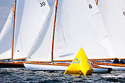 Osprey and Vindex sailing in the Robert H. Tiedemann Classic Yachting Weekend race 1.
