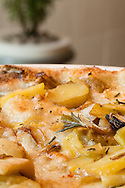 Perfect for fall, the Potato and Leek Pizza at Fi'lia is earthy and satisfying.