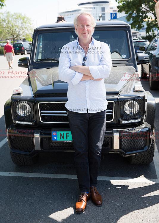 OSLO, 2014-5-28;  Eyvind Hellstrøm med bil. FOTO:  TOM HANSEN