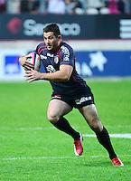 Florian FRITZ - 24.04.2015 - Stade Francais / Stade Toulousain - 23eme journee de Top 14<br />Photo : Dave Winter / Icon Sport