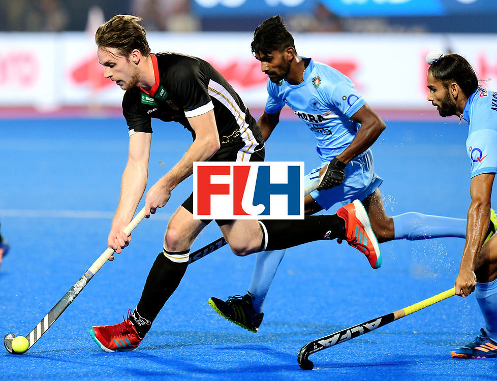 Odisha Men's Hockey World League Final Bhubaneswar 2017<br /> Match id:21<br /> India v Germany<br /> Foto: Niklas Bruns (Ger) <br /> COPYRIGHT WORLDSPORTPICS FRANK UIJLENBROEK